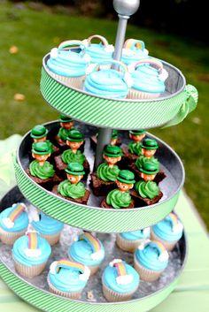 st. patties cupcakes