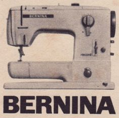 """""""I wouldn't be talked into buying any old sewing machine!"""""""