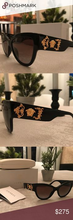 3c1d5ac78f30 Authentic Versace sunglasses Super elegant and sexy Versace sun glasses!  These definitely make a statement