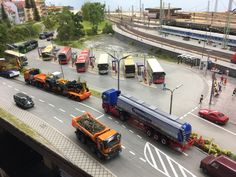 Ho Trains, Model Trains, Ho Train Layouts, Scale Map, Model Truck Kits, Diecast, World, City, Diorama