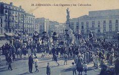 Gigantes y cabezudos c.1910 | por GAZA - Gran Archivo Zaragoza Antigua