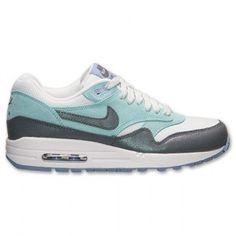 Nike Air Max 1 Essential Dames Lichtgrijs Donkergrijs Gletsjerijs Krijt Wit Schoenen kopen. Factory Store Belgie