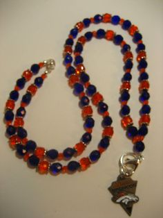 Are You Ready For Some Football   Denver Bronco by rockmybeads, $26.00