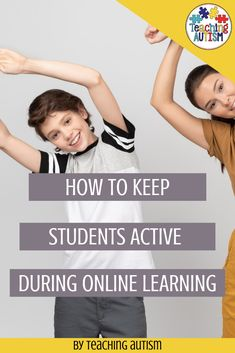 One of the biggest challenges we face with our autism and special education students when teaching online is keeping students engaged. One of the best ways that I have found to be able to keep my students engaged is to also keep them active. Sensory Activities, Hands On Activities, Classroom Activities, Autism Teaching, Teaching Resources, Self Contained Classroom, Back To School Activities, Special Education Classroom, Reading Strategies