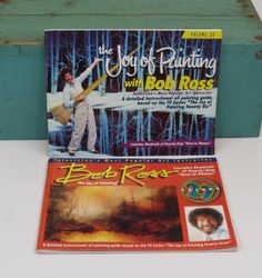 Bob Ross The Joy of Painting Volumes 26 & 27 by 13thStreetEmporium, $20.00