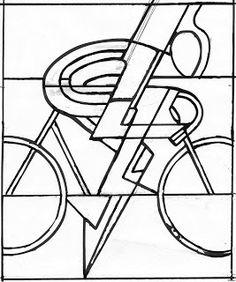 Cyclist pattern