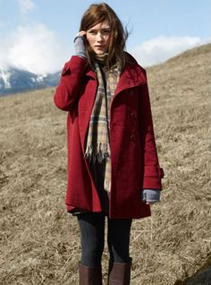 THE RED COAT: Monologue inspiration.
