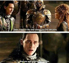 Heart. Breaks. In. Two. - Loki's face is essentially the audience's reaction to this scene