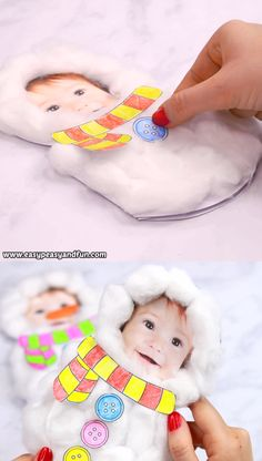 This Cotton Ball Snowman Craft makes the cutest little DIY Christmas card ever. It's cute, it's fluffy and it's personal. This Cotton Ball Snowman Craft makes the cutest little DIY Christmas card ever. It's cute, it's fluffy and it's personal. Diy Christmas Cards, Christmas Crafts For Kids, Christmas Activities, Halloween Crafts, Holiday Crafts, Christmas Snowman, Snowman Cards For Kids, Diy Christmas Projects, Diy Projects