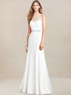 LACE WEDDING DRESS LC201  $283.00 - InWeddingDress.com