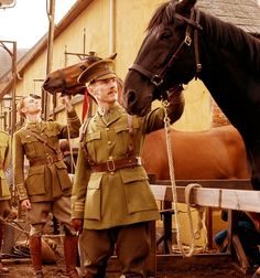Tom Hiddleston & Benedict Cumberbatch -- War Horse You have no idea how excited I was to see them in this movie together.