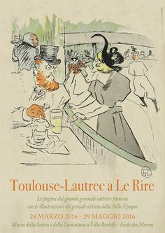 """FANY - BLOG: Toulouse-Lautrec a """"Le Rire"""" in mostra a Forte dei..."""