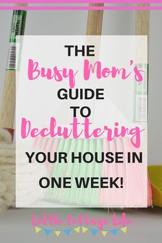 Is clutter stressing you out? Are you ready to organize your house? Follow this free declutter your home printable to get your organize your home in one week! #printable #clutter #declutter #organize #homeorganization #declutter365 #simpleliving