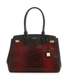 Yes, yes, YES!  Carlyle Croc Tote | Products | Henri Bendel