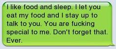 Sounds like something I would say.