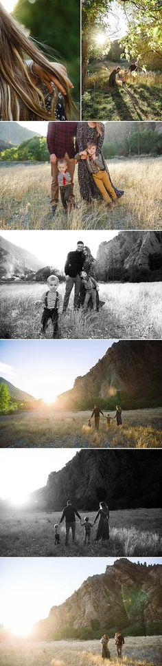Portrait Photography Inspiration : the best of both worlds Fall Family Photos, Fall Photos, Photos Du, Family Pictures, Family Photo Sessions, Family Posing, Family Portraits, Love Photography, Children Photography