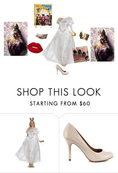 """Sem título #400"" by sophy-hope ❤ liked on Polyvore featuring Chinese Laundry, Lime Crime, contestentry and DisneyAlice"