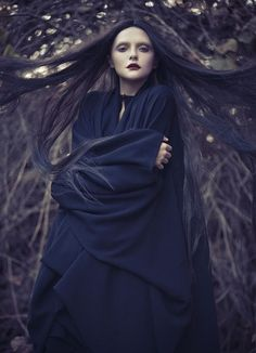 Mode sorcière / witch's fashion : MAX.TAN Spring 2012 Campaign