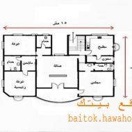 تخطيط منزل صغير Dream House Plans House Layout Plans House Design