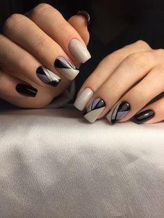 New nails sencillas ballerina 60 ideas Cute Acrylic Nails, Gel Nail Art, Acrylic Nail Designs, Cute Nails, Nail Art Designs, Square Nail Designs, Elegant Nail Designs, Beautiful Nail Designs, Beautiful Nail Art