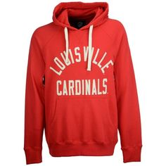 G-iii Sports Men's Louisville Cardinals Motion Pull Over Hooded... ($60) ❤ liked on Polyvore featuring men's fashion, men's clothing, men's hoodies, red, mens hoodies, mens hooded sweatshirts, mens sweatshirts and hoodies, mens hoodie and mens red hoodie