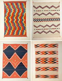 maybe a little too trendy for the home, but love these rug prints.