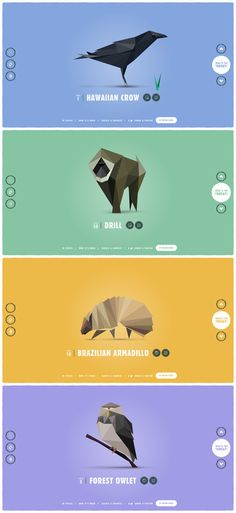 'In Pieces' is a phenomenal CSS-based interactive experiment bringing awareness to 30 endangered species. It's difficult to put into words what Amsterdam-based interactive designer, Bryan James, has achieved in this incredible One Pager - make sure you read his build notes in the full review: https://onepagelove.com/in-pieces Easy contender for One Pager of the year.
