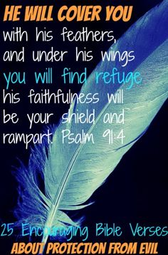 25 Encouraging Bible Verses About Protection From Evil by kristie Bible Verses About Faith, Encouraging Bible Verses, Bible Encouragement, Bible Scriptures, Bible Quotes, Bible Psalms, Scripture Art, Meaningful Quotes, Inspirational Quotes