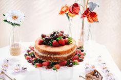 Naked - bolo de casamento