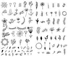 Hand-Drawn Vector Kit + 15 Logos - Illustrations - 2