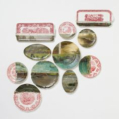 Waterland Plate Decoupage in House+Home HOME+DÉCOR Wall Décor Art+Accents at Terrain
