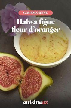 Une recette facile d'un gâteau indien : de l'halwa à la semoule aux figues et à la fleur d'oranger. #recette#cuisine #dessert #figue #feurdoranger #halwa