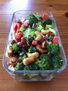 beautiful broccoli salad