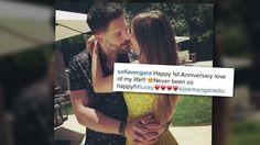 Sofia Vergara y Joe Manganiello celebran primer aniversario juntos