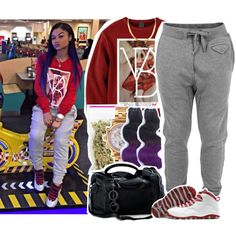 A fashion look from February 2015 featuring Diesel activewear pants and Versace watches. Browse and shop related looks.