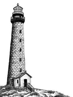 lighthouse sketch - Cerca con Google