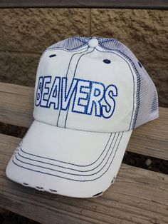 Personalized Trucker Hat Any Name Baseball Cap Birthday Softball Cheer or Gift