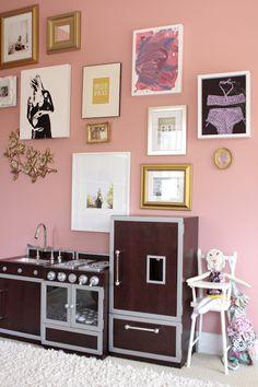 me oh my!: Presley's Big Girl Room....framed baby bikini!