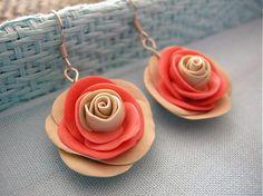 Fancy Orange Rose
