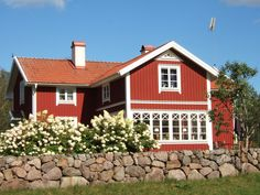 Swedish Style, Swedish House, Scandinavian Design, Country Home Exteriors, House Exteriors, Home Fashion, Cozy House, Farmhouse, Cottage