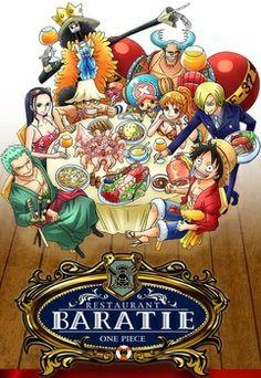 Official One Piece Restaurant Baratie's Menu Revealed - Interest - Anime News Network One Piece 1, One Piece Manga, Monkey D Luffy, Pure One, Otaku, Luffy X Nami, Fanart, Treasure Planet, Pirate Life