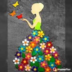 40 More Brilliant DIY Spring Crafts Ideas for Kids Spring Crafts For Kids, Art For Kids, Quilling Work, School Murals, Wall Hanging Crafts, Arts And Crafts, Paper Crafts, Class Decoration, Quilling Designs