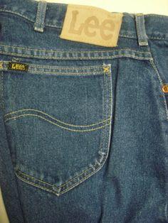 Vintage 60'S 70'S Sport-about Jeans Pants Talon 42 Zipper 34 x 30