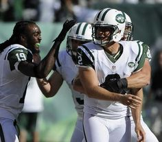 Nick Folk is congratulated after kicking the game winner against the Bucs New  York Jets Football a6cfca7d8