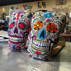 Sugar skull pillows available (713)8802105 Houston Texas 725 Yale St 77007