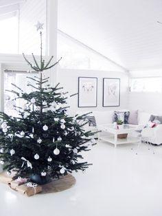 blanco y verde pino