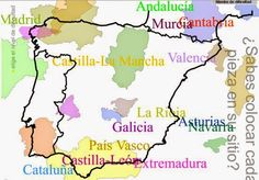 Blog de los niños. Juegos de las comunidades autónomas de España.