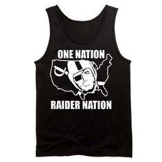 One Nation Raider Nation - Raiders 4 Life Tank Top
