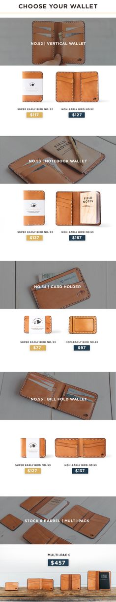 Lifetime Guarantee. A classic, timeless line of leather wallets that only looks better with age. 100% made in America.