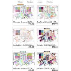 Mini kits have been restocked in the shop! . . . . #planner #plannergirl #plannerlove #planneraddict #plannerlife #plannernerd #LNMPRSQUAD #plannerdecor #plannerstickers #plannergoodies #plannercommunity #plannerobsessed #erincondren #erincondrenlifeplanner #eclp #thehappyplanner #happyplanner #filofax #kikkik #personalplanner #michaels #recollections #plannerfriendsmakethebestfriends